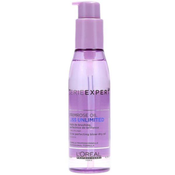 Loreal Liss Unlimited Primrose Oil - Olejek wygładzający włosy 125ml
