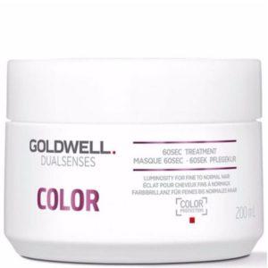Goldwell 60sec Treatment Dualsenses Color – Kuracja nabłyszczająca do włosów farbowanych 200ml