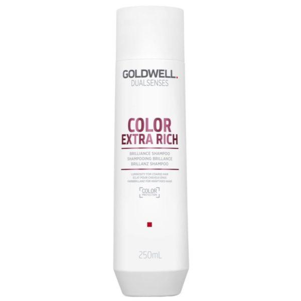 Goldwell Color Extra Rich Shampoo - Szampon do włosów farbowanych 250ml
