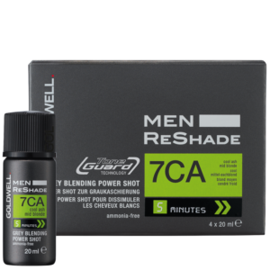 Goldwell Men Reshade 7CA - zestaw do tuszowania siwizny dla mężczyzn 4x20ml