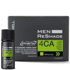 Goldwell Men Reshade 4CA - Zestaw do tuszowania siwizny dla mężczyzn 4x20ml