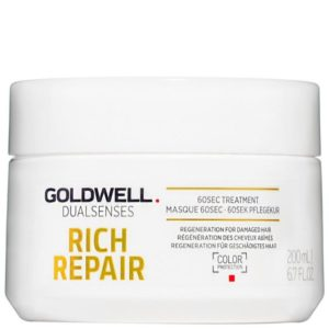 Goldwell Rich Repair 60sec Treatment - Intensywna maska regenerująca do włosów 200ml
