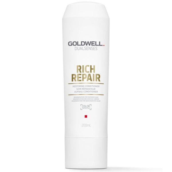 Goldwell Rich Repair Conditioner - Regenerująca odżywka do włosów 200ml