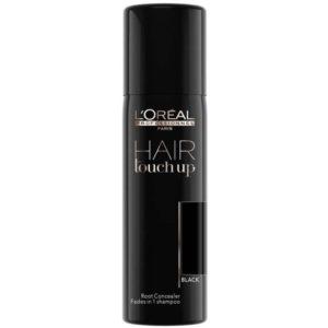 Loreal Hair Touch Up - Spray maskujący odrosty Czarny 75ml