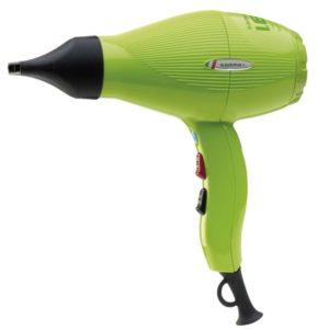 Eko suszarka do włosów Gamma Piu zielona