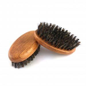 Duży kartacz do brody z naturalnej szczeciny dzika