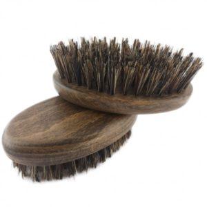 Mały kartacz do brody z naturalną szczeciną dzika i-color.pl