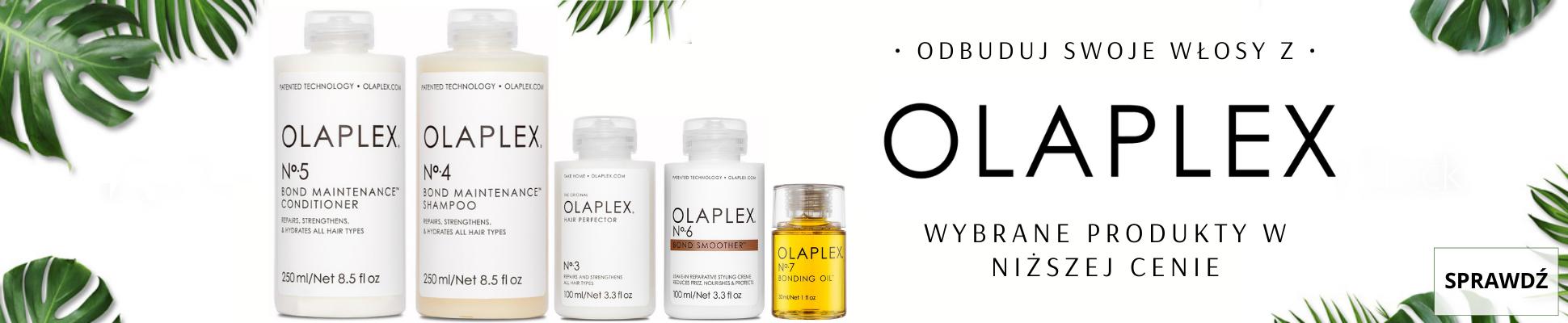 Olaplex Wybrane produkty taniej regeneracja z olaplexem