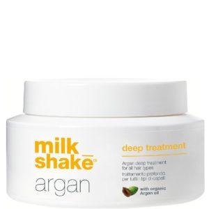 Milk Shake Argan Deep Treatment - Głęboko odżywcza maska do wszystkich typów włosów 200ml