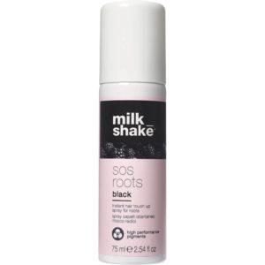 Milk Shake SOS Roots Black - Spray maskujący odrost czarny 75ml