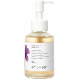 Simply Zen Restructure In Sublime Oil - błyskawicznie wygładzający olejek do zniszczonych włosów 100ml