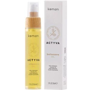 Kemon Actyva Bellessere Oil - Aksamitny olejek do wszystkich rodzajów włosów 50ml