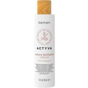 Kemon Actyva Colore Brillante - Krem do włosów farbowanych bez spłukiwania150ml