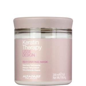 Alfaparf Lisse Design Keratin Therapy - Maska nawilżająca po keratynowym prostowaniu 200ml