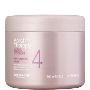 Alfaparf Lisse Design Keratin Therapy - Maska nawilżająca po keratynowym prostowaniu 500ml