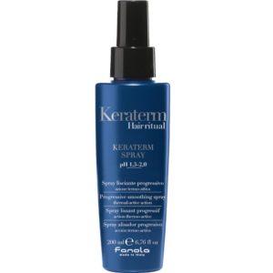Fanola Keraterm Spray - Termoochronny spray zapobiegający puszeniu włosów 200ml