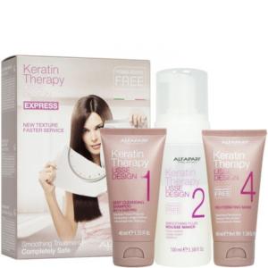 Alfaparf Lisse Design Intro Kit Express Method - Zestaw do keratynowego prostowania włosów