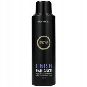 Montibello Decode Finish Radiance - Spray nabłyszczający do włosów 200ml