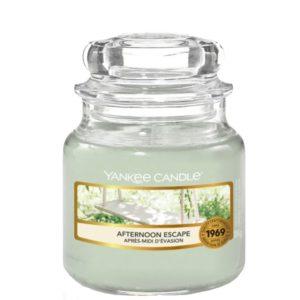 Yankee Candle Afternoon Escape - Mała świeca zapachowa 104g