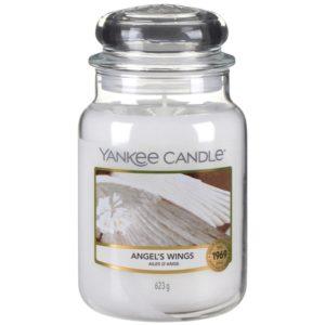 Yankee Candle Angel Wings - Duża świeca zapachowa 623g
