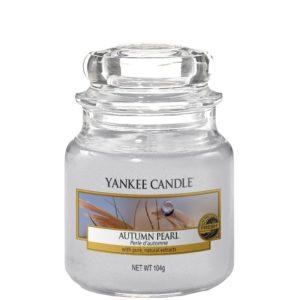 Yankee Candle Autumn Pearl - Mała świeca zapachowa 104g