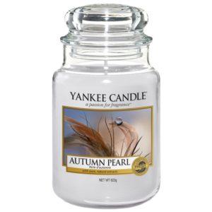 Yankee Candle Autumn Pearl - Duża świeca zapachowa 623g