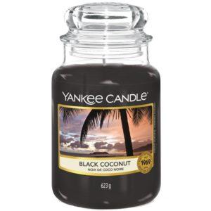 Yankee Candle Black Coconut - Duża świeca zapachowa 623g