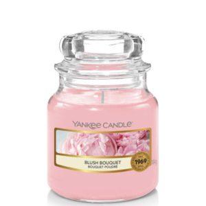 Yankee Candle Blush Bouquet - Mała świeca zapachowa 104g