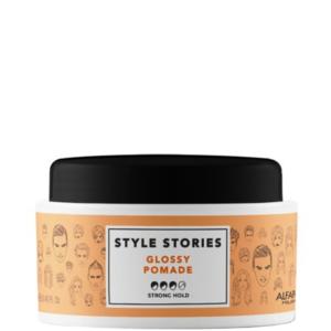 Alfaparf Style Stories Glossy - Mocna nabłyszczająca pomada woskowa 100ml