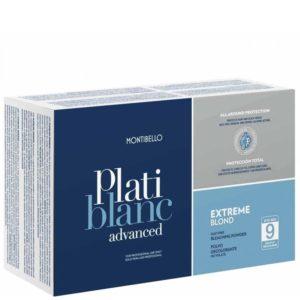 Montibello Platiblanc Extreme Blond - Uzupełniacz do rozjaśniacza w saszetkach 2x500g